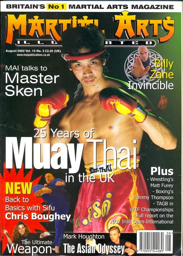 08/02 Martial Arts Illustrated (UK)